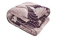 """Стеганое одеяло из овечьей шерсти 175х210 """"Уют"""" (шерсть/сатин)"""