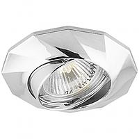 Встраиваемый точечный светильник Feron DL6021 хром поворотный