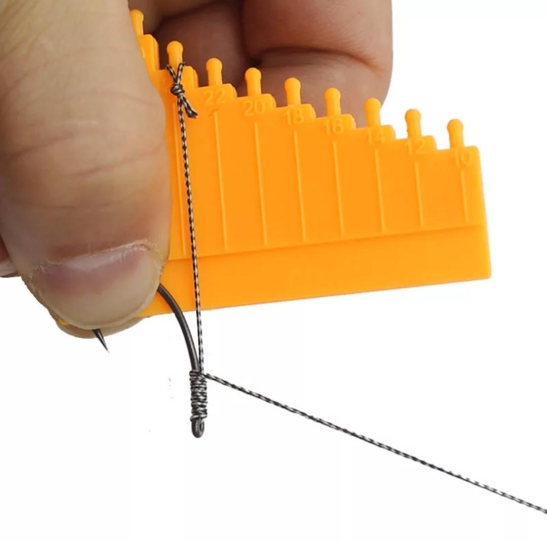 Линейка для изготовления волосяной оснастки , измеритель волоса