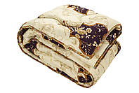"""Стеганое одеяло из овечьей шерсти 145х210 """"Верона"""" (шерсть/поликоттон)"""
