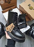 Женские ботинки Dr. Martens black зима (558GL), фото 1
