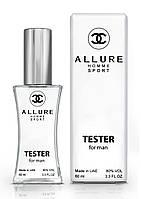 Тестер мужской Chanel Allure Homme Sport, 60 мл.