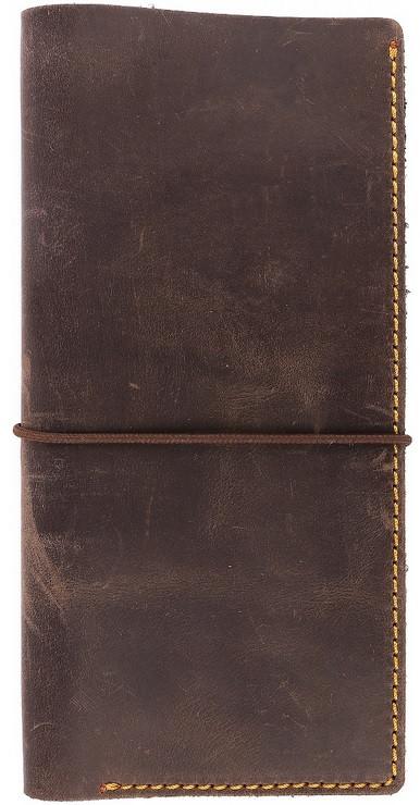 02271cbcadcf Дорожный кожаный органайзер на резинке в стиле western Black Brier TK-1-33  коричневый