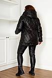 Качественная женская зимняя куртка oversize! Батальные размеры: от 48 до 58!, фото 8