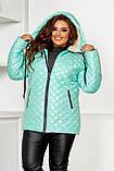 Качественная женская зимняя куртка oversize! Батальные размеры: от 48 до 58!, фото 7