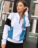 Женский спортивный костюм,ткань : турецкая двух нитка высокого качества, комбинация цветов(42-46), фото 1
