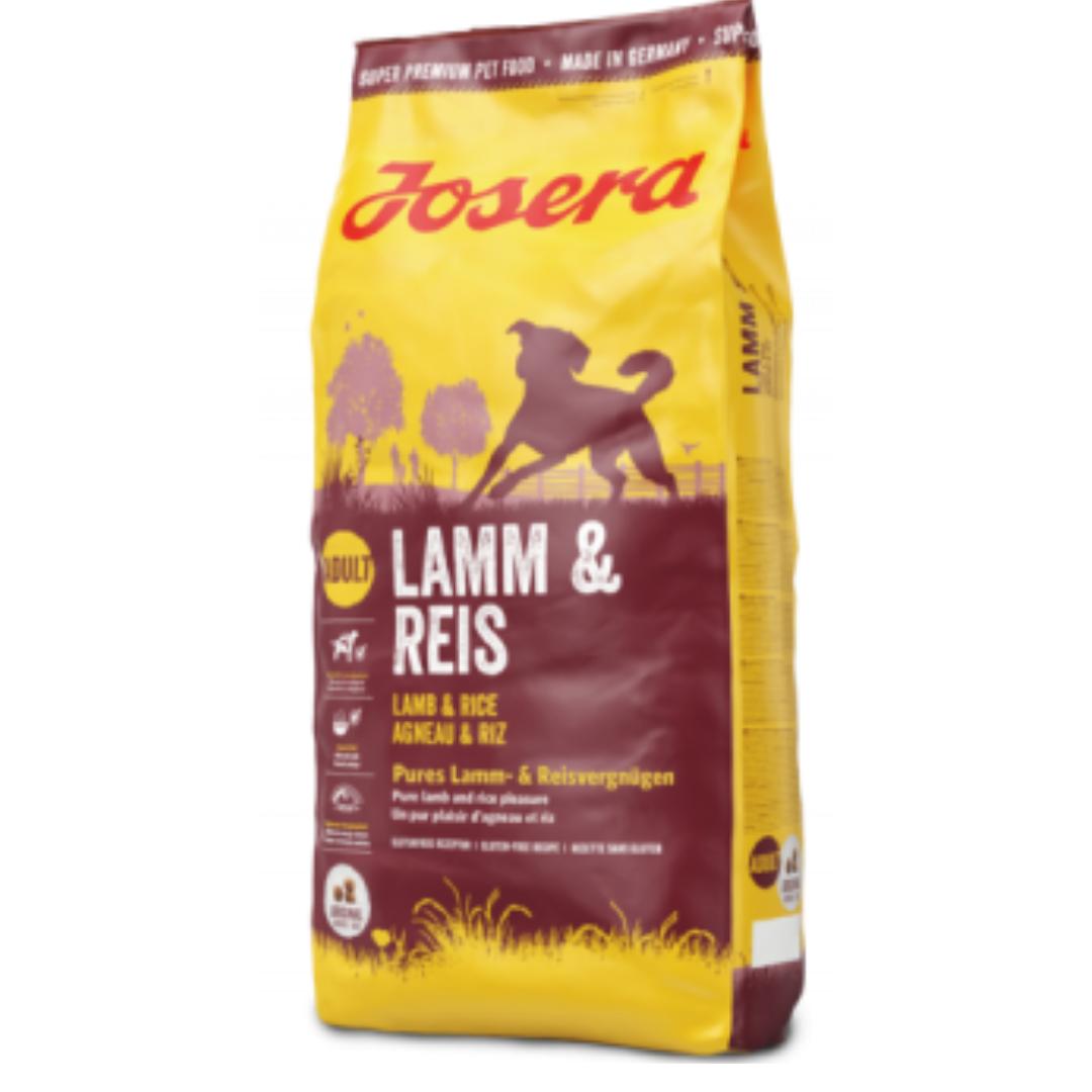Сухий корм Josera Lamb & Rice для собак 15 кг Адвантікс 1 піп кешбек та безкоштовна доставка