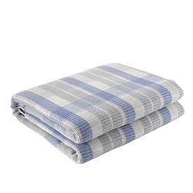 Плед Eponj Home - Ekose 150*220 Mavi-gri блакитний-сірий