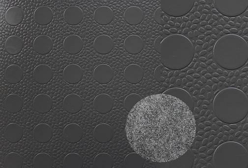 Автолин турецкий Копейка серый, напольное покрытие для автомобилей, ширина 1,8 м, фото 2
