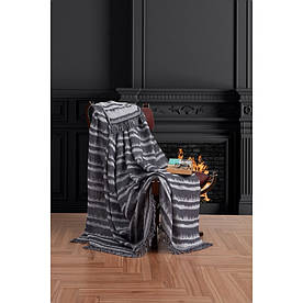 Плед-накидка Eponj Home Buldan Keten - Desibel 170*220 siyah чорний