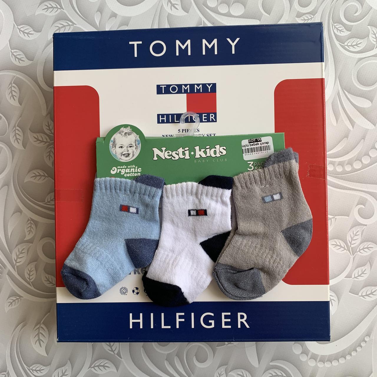 Хлопковые носки Tommy H для новорождённых