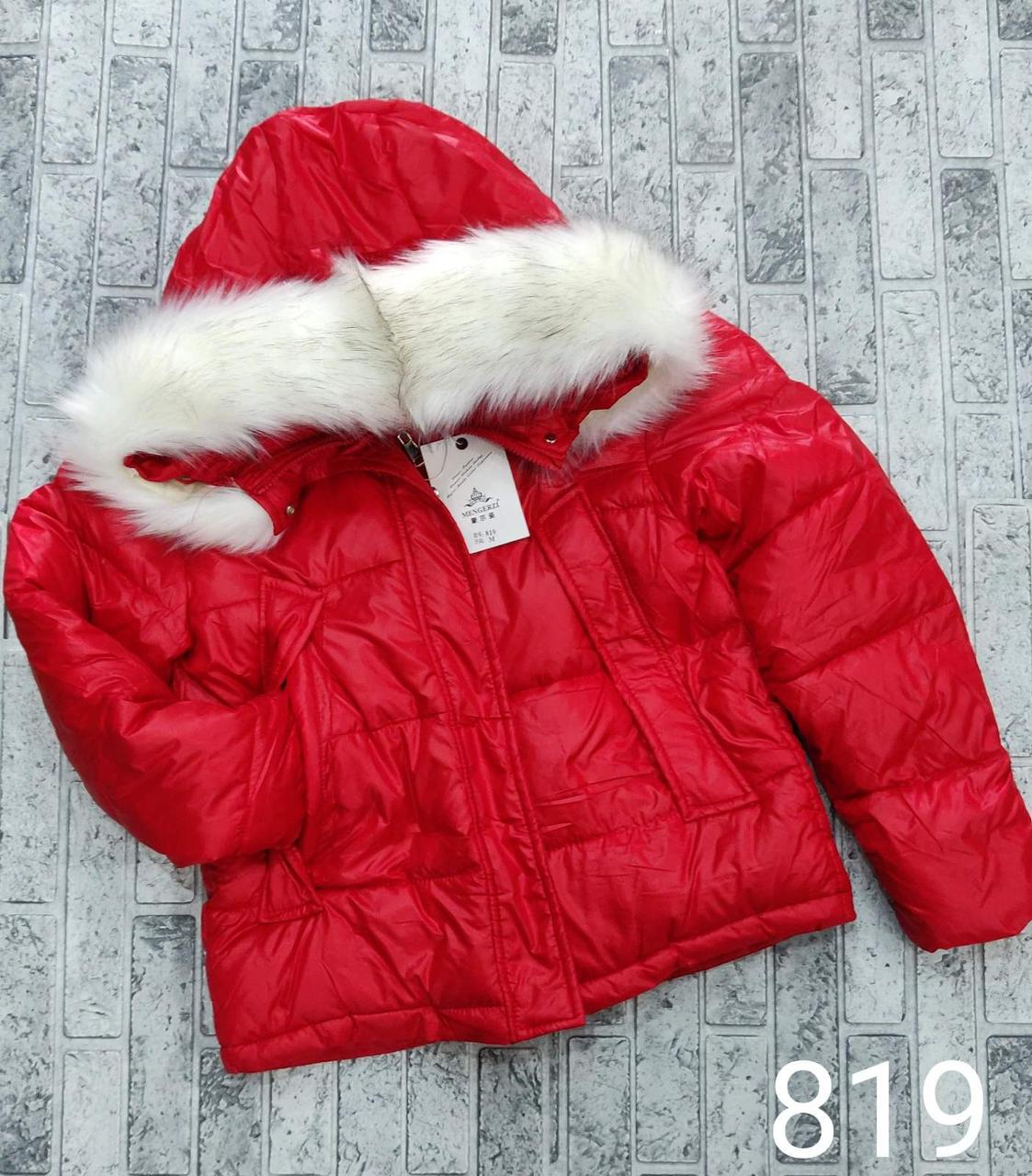Модная короткая куртка с мехом M-2XL (в расцветках)