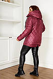 Качественная женская зимняя куртка oversize! Батальные размеры: от 48 до 58!, фото 4