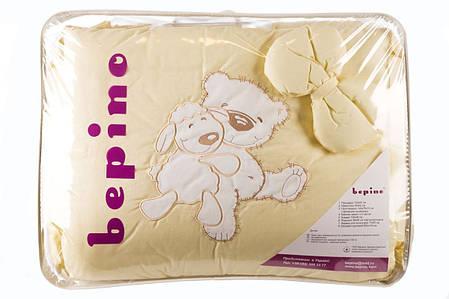 """Комплект детского постельного белья """"Мишка и овечка"""" аппликация, ткань жаккард, фото 2"""