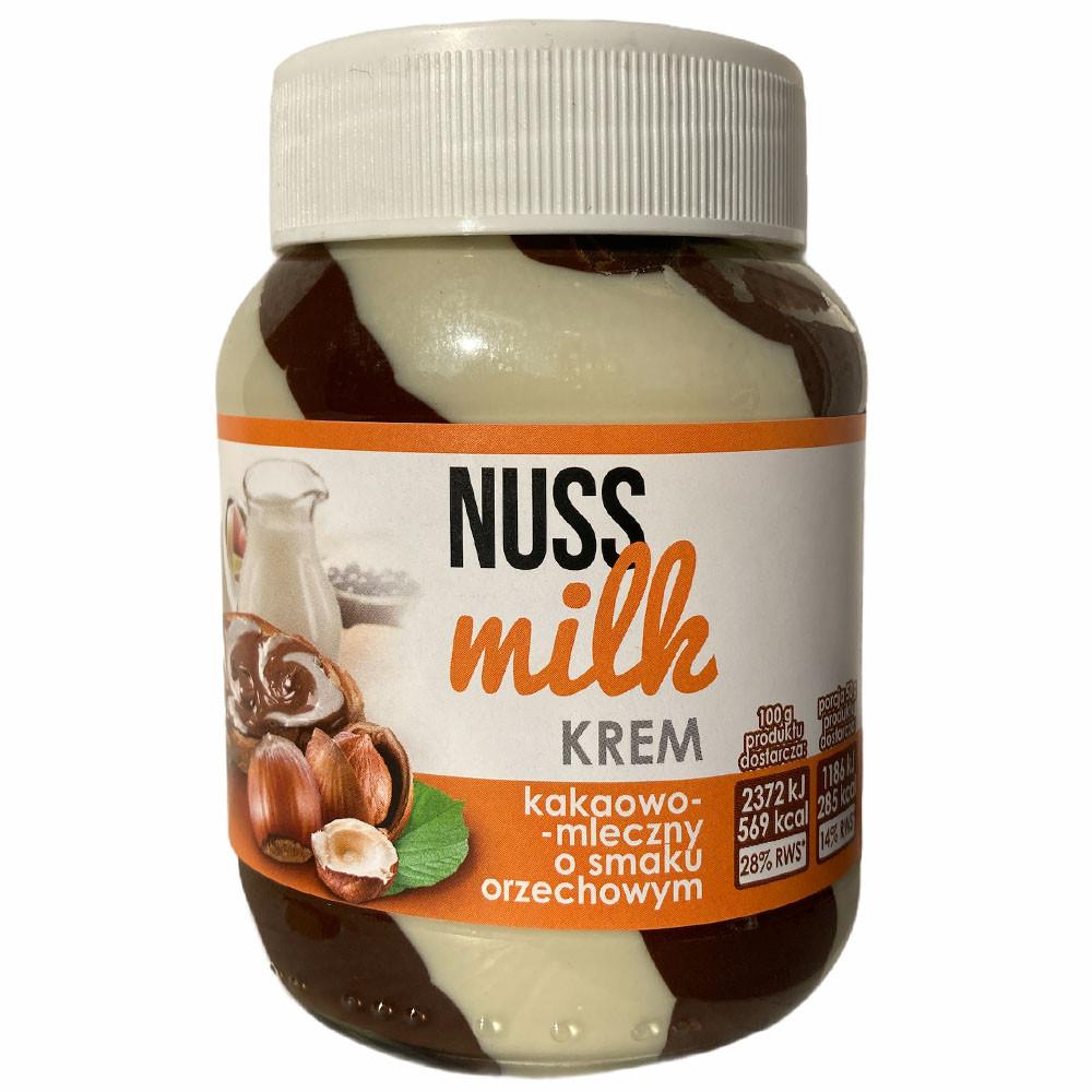 Шоколадная паста какао-молочная со вкусом ореха Nuss Milk Krem