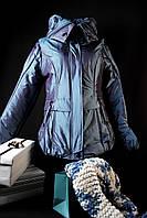 Куртка женская зимняя хамелеон