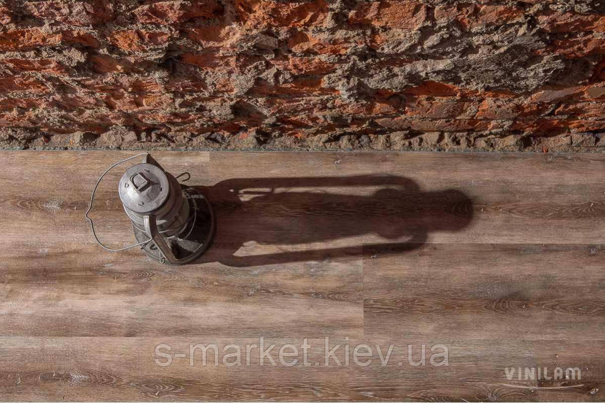Винилвая плитка Vinilam Click Дуб Ульм 3,7 мм 511003