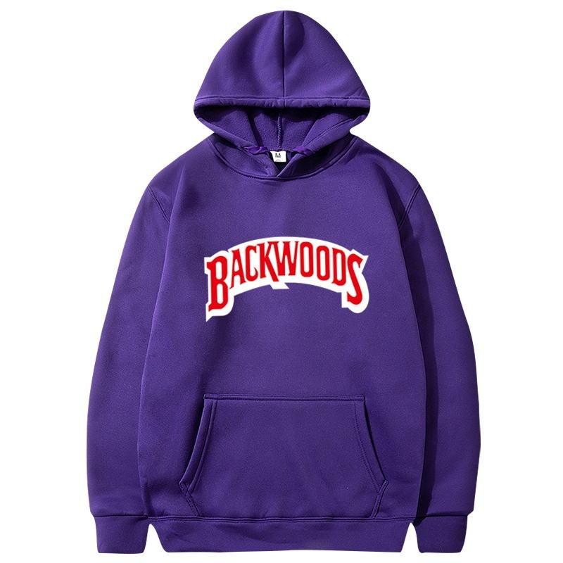 Худи Backwoods толстовка фиолетовая мерч