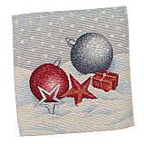 """Салфетка под тарелку  """"Квітчасте Різдво"""",  37х49 см, фото 2"""
