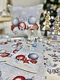 """Салфетка под тарелку  """"Квітчасте Різдво"""",  37х49 см, фото 7"""