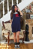 """Спортивное женское платье """"Adidas"""" с кармашками"""