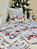 """Наперон\доріжка на стіл """"Квітчасте Різдво"""", 45х140 см, фото 3"""
