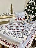 """Наперон\доріжка на стіл """"Квітчасте Різдво"""", 45х140 см, фото 4"""