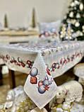 """Наперон\доріжка на стіл """"Квітчасте Різдво"""", 45х140 см, фото 6"""