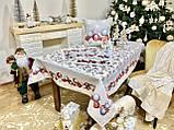 """Наперон\доріжка на стіл """"Квітчасте Різдво"""", 45х140 см, фото 7"""