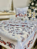 """Наперон\доріжка на стіл """"Квітчасте Різдво"""", 45х140 см, фото 8"""