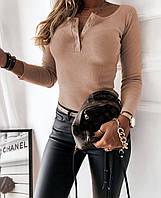 Жіночий Кардиган Горошок,35% поліестер, 35% коттон, 30% віскоза, в принт,довгий(42-48), фото 1