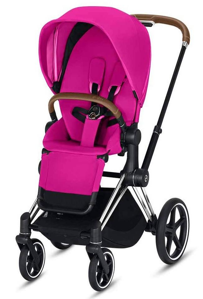 Cybex Priam Lux R Fancy Pink purple Прогулочная