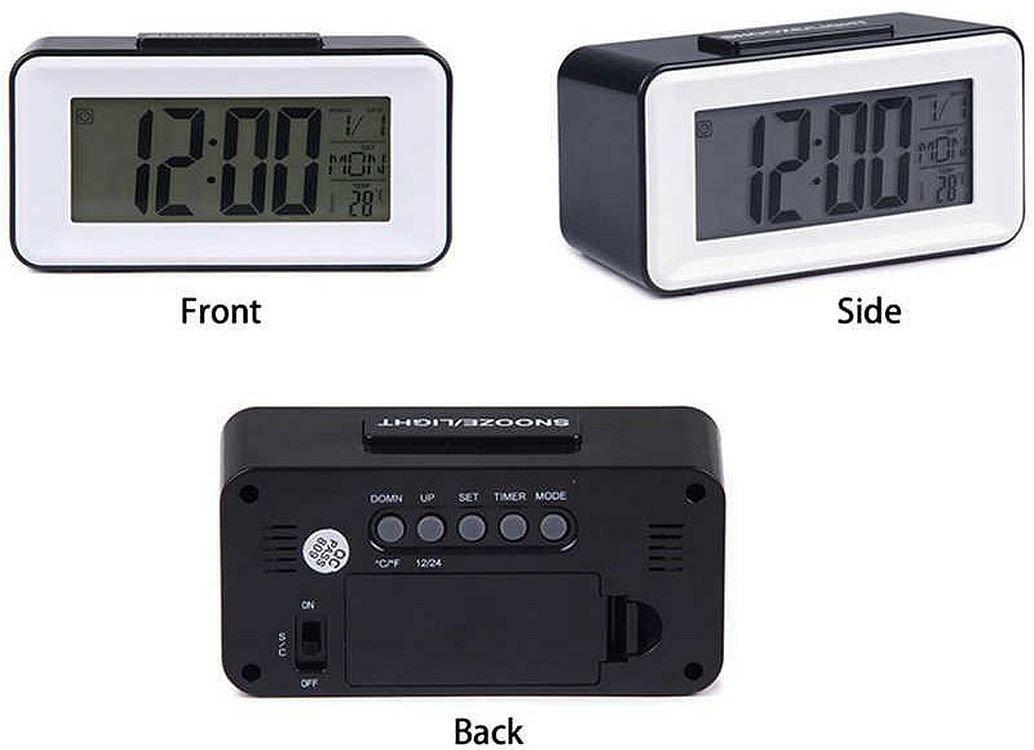 Настольные часы Ds-3620 с подсветкой