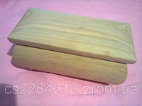 Деревянная шкатулка  (заготовка), заготовка для декупажа и росписи,прямоугольная, 8*16*10 см