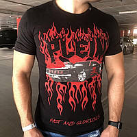 Philipp Plein T-Shirt Fast and Glorious Black/Red