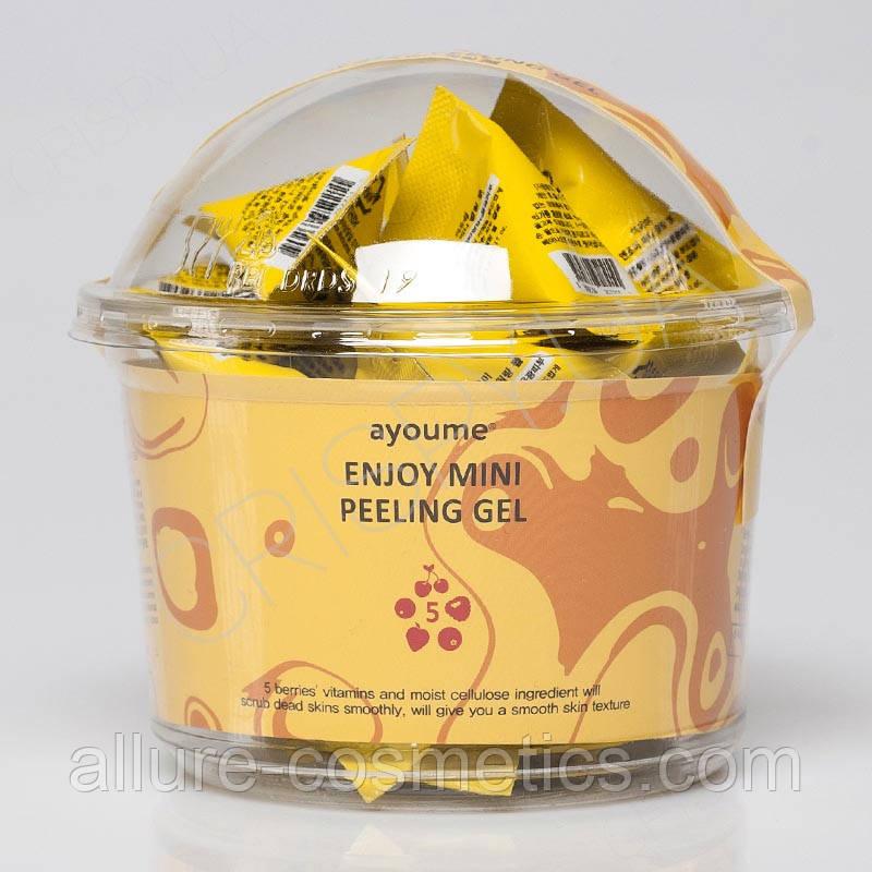 Пілінг-гель з фруктовими кислотами AYOUME Enjoy Mini peeling gel 30шт по 3г