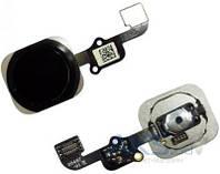 Шлейф для Apple iPhone 6S с кнопкой Home Original Black