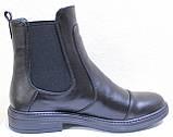 Ботинки женские демисезонные кожаные от производителя модель РИ113Ч, фото 3