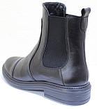 Ботинки женские демисезонные кожаные от производителя модель РИ113Ч, фото 4