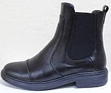 Ботинки женские демисезонные кожаные от производителя модель РИ113Ч, фото 2