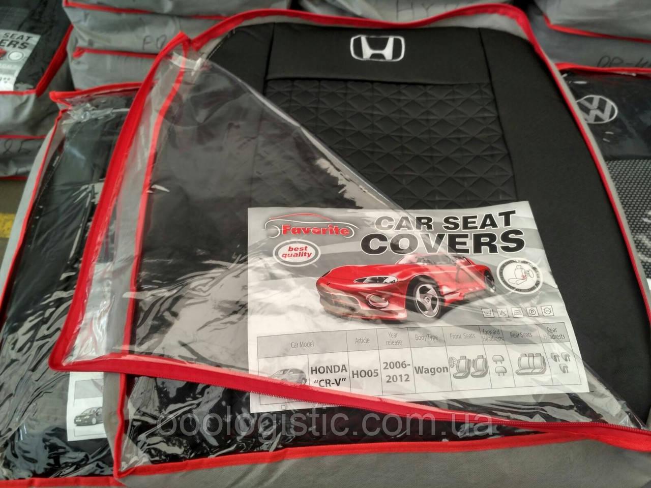 Авточехлы  на Honda CR-V (USA) 2006- 2012 wagon,Хонда CR-V 2006-2012 года вагон