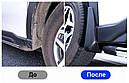 Брызговики MGC Subaru Forester SK 2018+ Европа комплект 4 шт J1010SG250MC J1010SJ001 J1010SJ004 J1010SJ007, фото 7