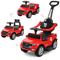 Детский электромобиль каталка-толокар Bambi M 3575EL-3 Красный (M 3575EL-3)