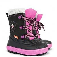 Детские зимние Сапоги Demar Billy a (розовые) на натуральном меху