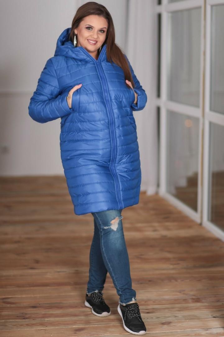 Пальто женское зимнее на овчине большие размеры 48-56