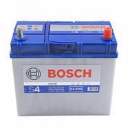 Аккумулятор  BOSCH S4020 45Ah, правый (+), Азия тонкие клеммы