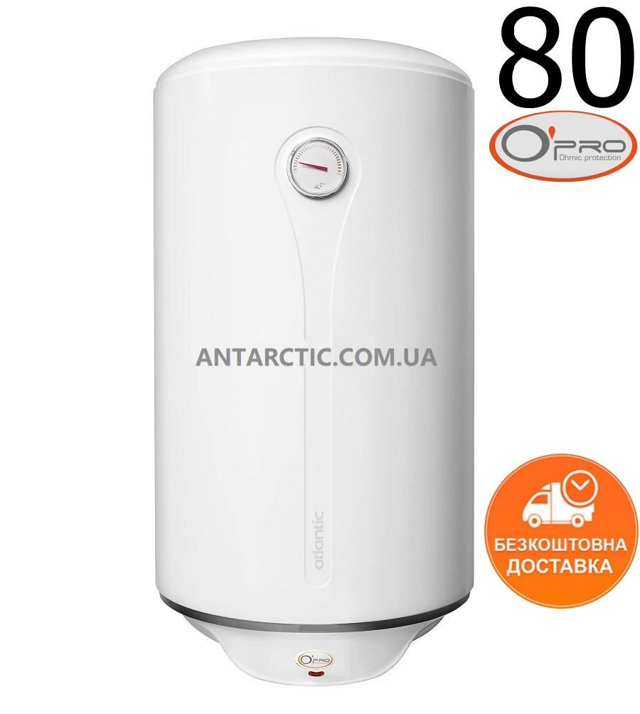 Бойлер 80 литров ATLANTIC O'PRO PROFI VM 080 D400-1-M 1500W л, водонагреватель электрический накопительный