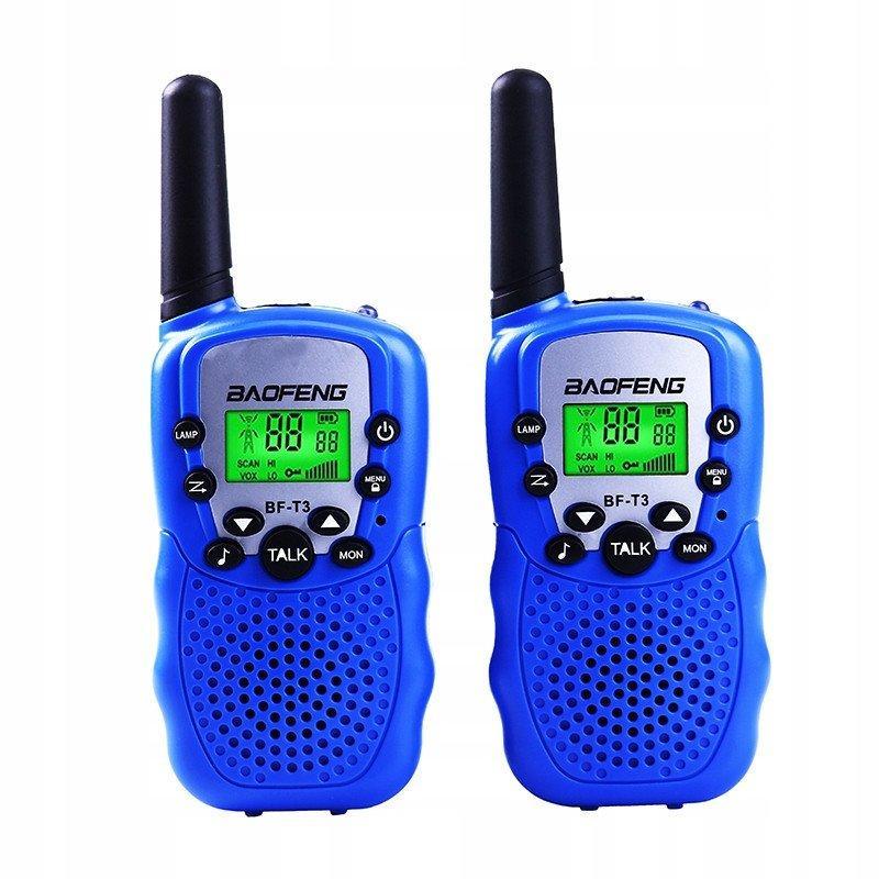 Рация Baofeng MiNi BF-T3 PMR446 2 шт Blue