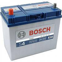 Аккумулятор  BOSCH S4022 45Ah, левый (+), Азия тонкие клеммы