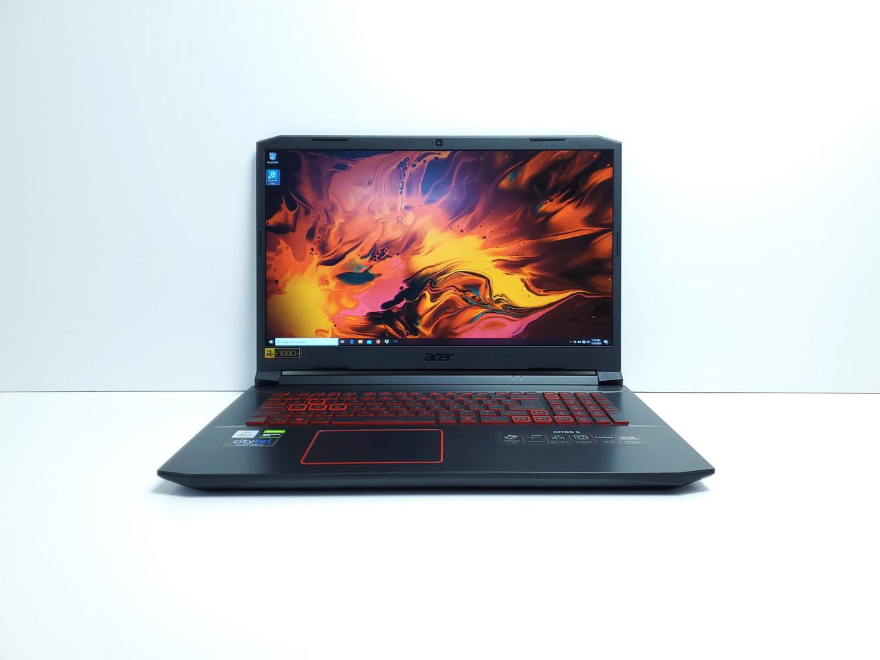 "Ігровий ноутбук Acer Nitro 5 17.3"" FHD i5-10300H 8Gb SSD512Gb GTX1650Ti 4GB GDDR6 Windows 10"
